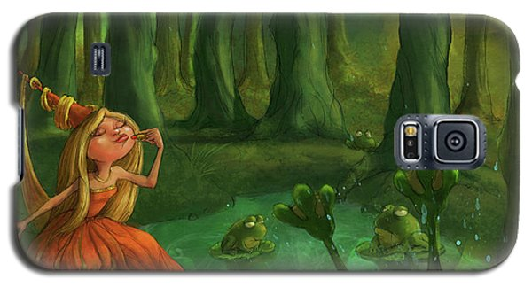 Kissing Frogs Galaxy S5 Case by Andy Catling