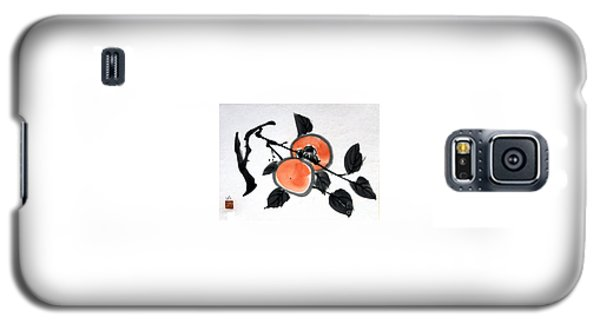 Kissing Persimmons Galaxy S5 Case