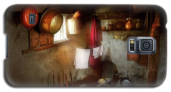 Galaxy S5 Case featuring the photograph Kitchen - Homesteading Life by Mike Savad