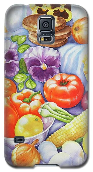 Galaxy S5 Case featuring the painting Kitchen Symphony by Inese Poga