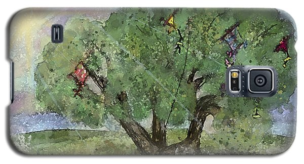 Kite Eating Tree Galaxy S5 Case