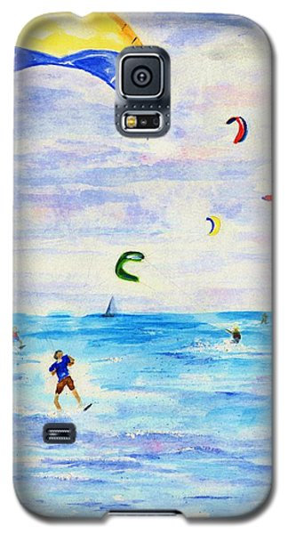 Kite Surfer Galaxy S5 Case