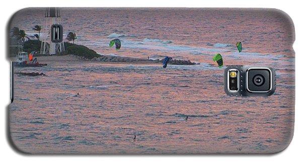 Kiteboarding At Hillsboro Galaxy S5 Case