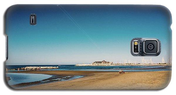 Kitesurf On The Beach Galaxy S5 Case