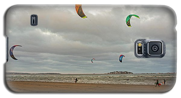 Kitesurfing On Revere Beach Galaxy S5 Case
