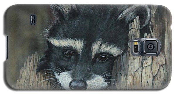 Kit...the Baby Raccoon Galaxy S5 Case