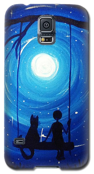 Kitty And Me Galaxy S5 Case