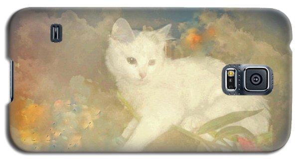 Kitty Art Precious By Sherriofpalmsprings Galaxy S5 Case by Sherri's Of Palm Springs