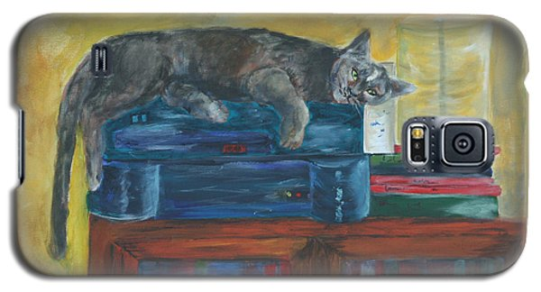 Kitty Comfort Galaxy S5 Case