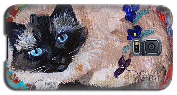 Kitty Goes To Paris Galaxy S5 Case