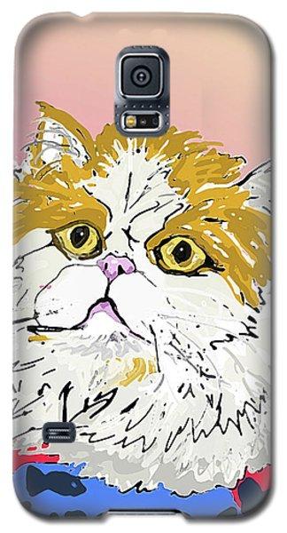 Kitty In Tuna Can Galaxy S5 Case