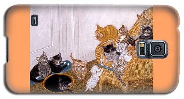 Kitty Litter II Galaxy S5 Case