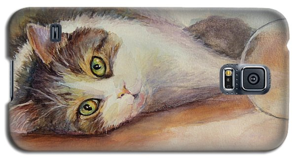 Kitty With Spilled Milk Galaxy S5 Case