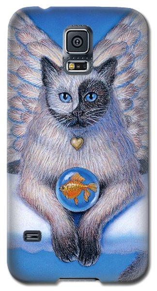 Kitty Yin Yang- Cat Angel Galaxy S5 Case
