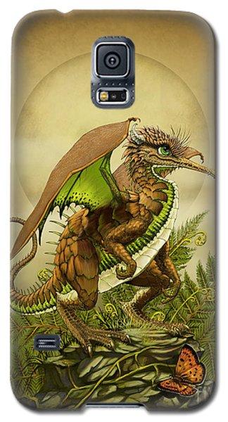 Galaxy S5 Case featuring the digital art Kiwi Dragon by Stanley Morrison