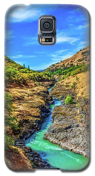 Klickitat River Canyon Galaxy S5 Case