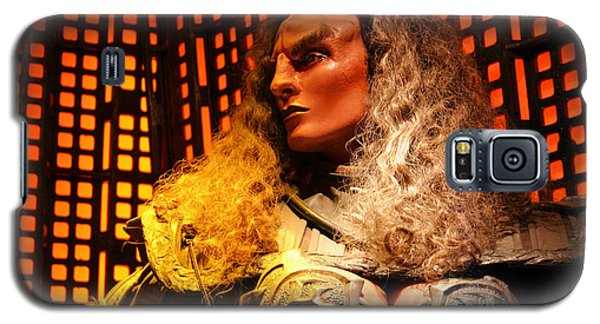 Klingon Galaxy S5 Case by Kristin Elmquist