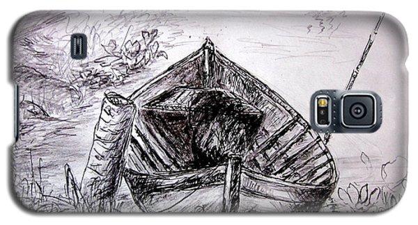 Galaxy S5 Case featuring the drawing Klotok  by Jason Sentuf