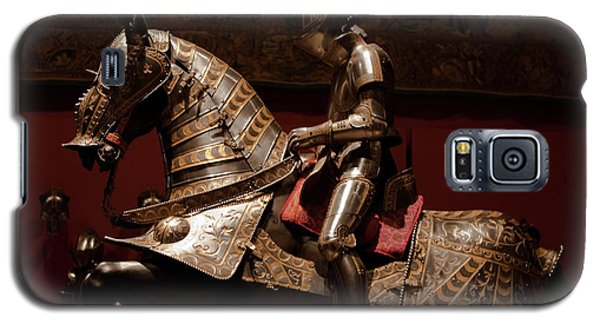 Knight And Horse In Armor Galaxy S5 Case