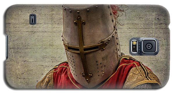 Galaxy S5 Case featuring the photograph Knight In Armor by Mary Hone