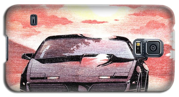 Galaxy S5 Case featuring the digital art Knight Rider by Gina Dsgn