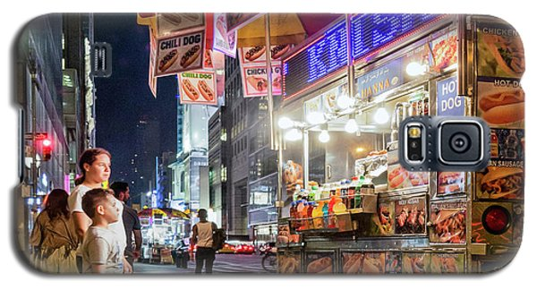 Galaxy S5 Case featuring the photograph Knish, New York City  -17831-17832-sq by John Bald