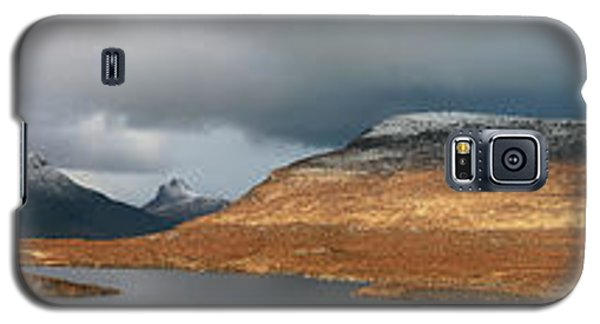 Knockan Crag Mountain View Galaxy S5 Case by Grant Glendinning