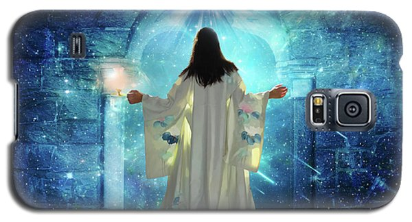 Knocking On Heavens Door Galaxy S5 Case by Dolores Develde