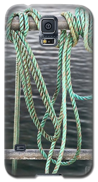 Galaxy S5 Case featuring the photograph Knot Of My Warf II by Stephen Mitchell