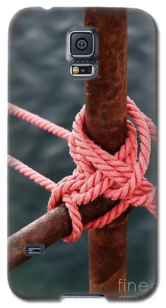Galaxy S5 Case featuring the photograph Knot On My Warf IIi by Stephen Mitchell