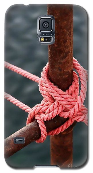 Knot On My Warf IIi Galaxy S5 Case by Stephen Mitchell