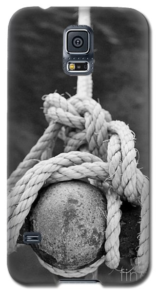 Galaxy S5 Case featuring the photograph Knot On My Warf Iv by Stephen Mitchell