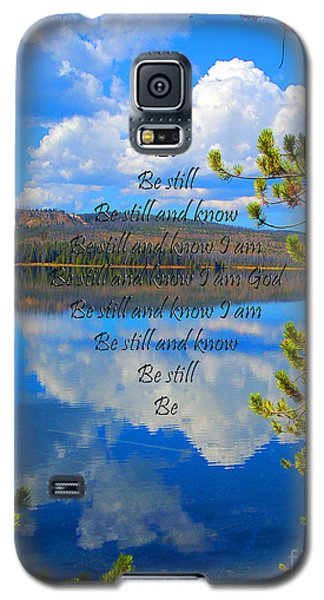 Galaxy S5 Case featuring the photograph Know I Am by Diane E Berry