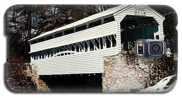 Knox Covered Bridge Historical Place Galaxy S5 Case
