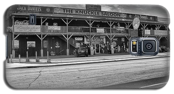 Knuckle Saloon Sturgis Galaxy S5 Case by Richard Wiggins