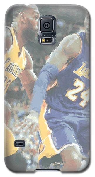 Kobe Bryant Lebron James 2 Galaxy S5 Case