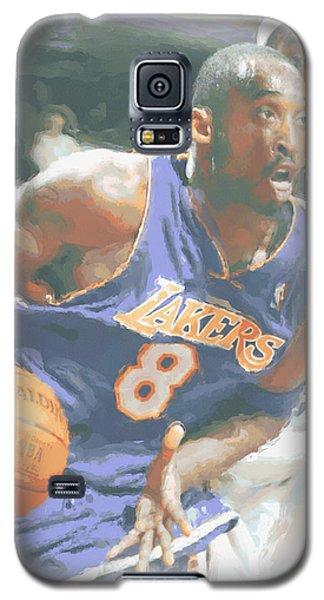 Kobe Bryant Lebron James Galaxy S5 Case by Joe Hamilton