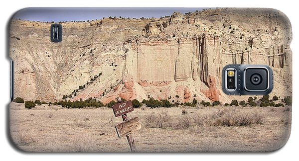 Kodachrome Flat Chimney Rock Galaxy S5 Case