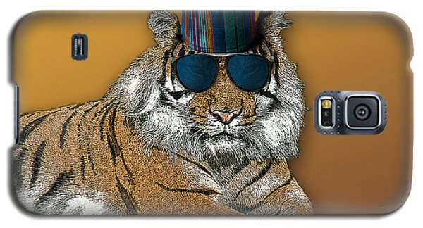 Kofia Tiger With Shades Galaxy S5 Case