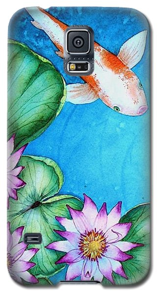 Koi And Lilies Cards And Prints  Galaxy S5 Case