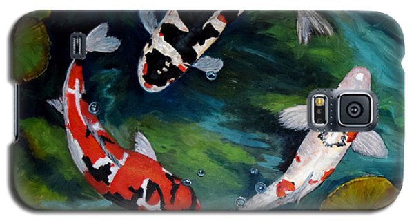 Koi Dance Galaxy S5 Case by Sandra Nardone