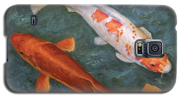 Koi Pair Galaxy S5 Case by Sandra Nardone