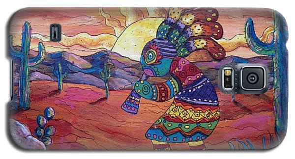 Kokopelli Sunset Galaxy S5 Case