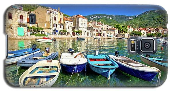 Komiza On Vis Island Turquoise Waterfront Galaxy S5 Case