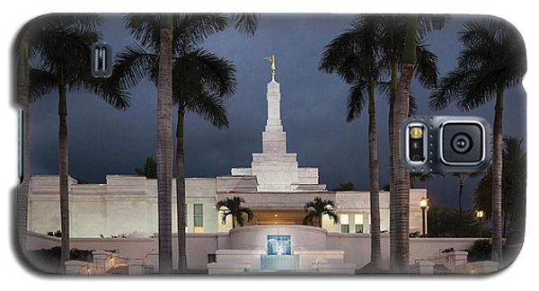 Kona Hawaii Temple-night Galaxy S5 Case