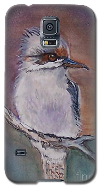 Galaxy S5 Case featuring the painting Kookaburra Fancy by Leslie Allen