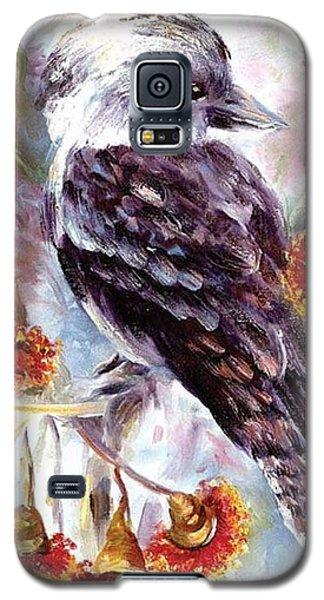 Kookaburra In Red Flowering Gum Galaxy S5 Case