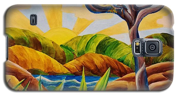 Kookaburra Landscape Galaxy S5 Case