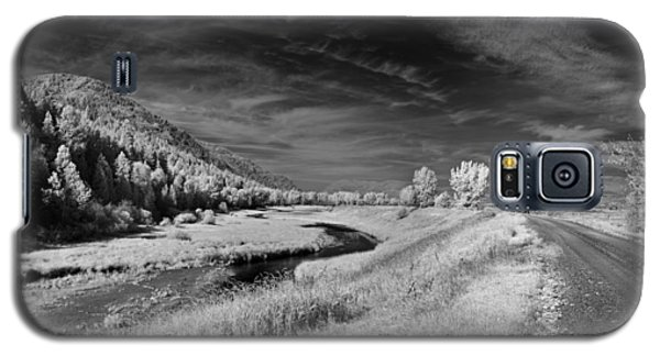 Kootenai Wildlife Refuge In Infrared 2 Galaxy S5 Case