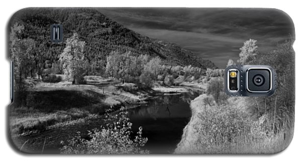 Kootenai Wildlife Refuge In Infrared 3 Galaxy S5 Case